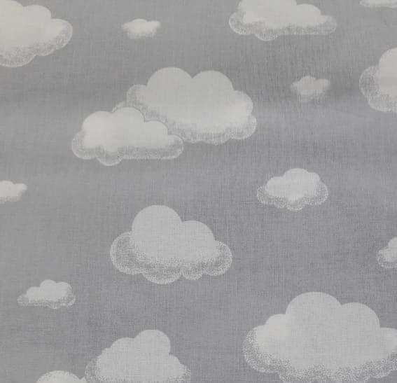 Tecido Nuvem Cinza