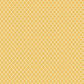 Tecido Tricoline Mini Vitral Amarelo