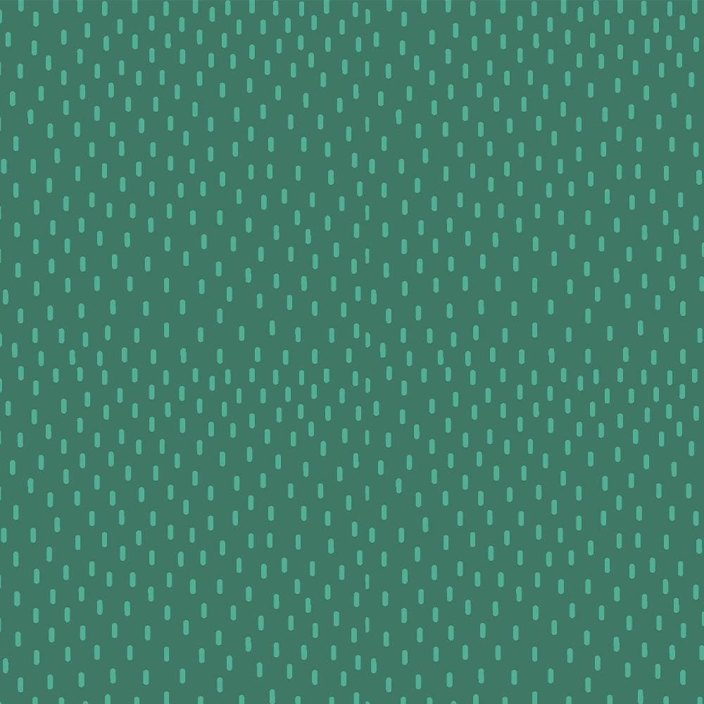 Tecido Tricoline Chuva Jade