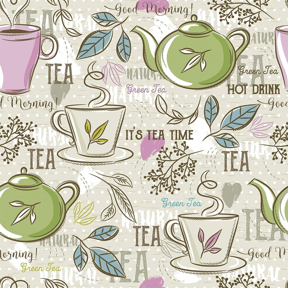 Tecido Tricoline Tea Tima