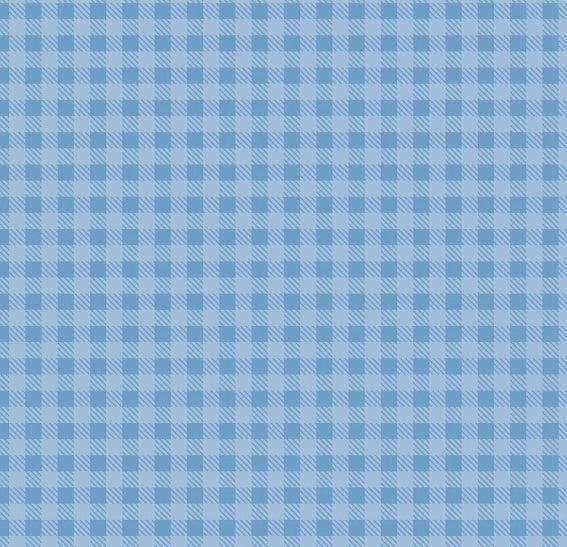 Xadrez Azul Clarinho