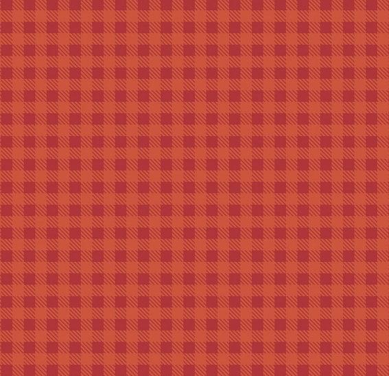 Xadrez Vermelho Claro