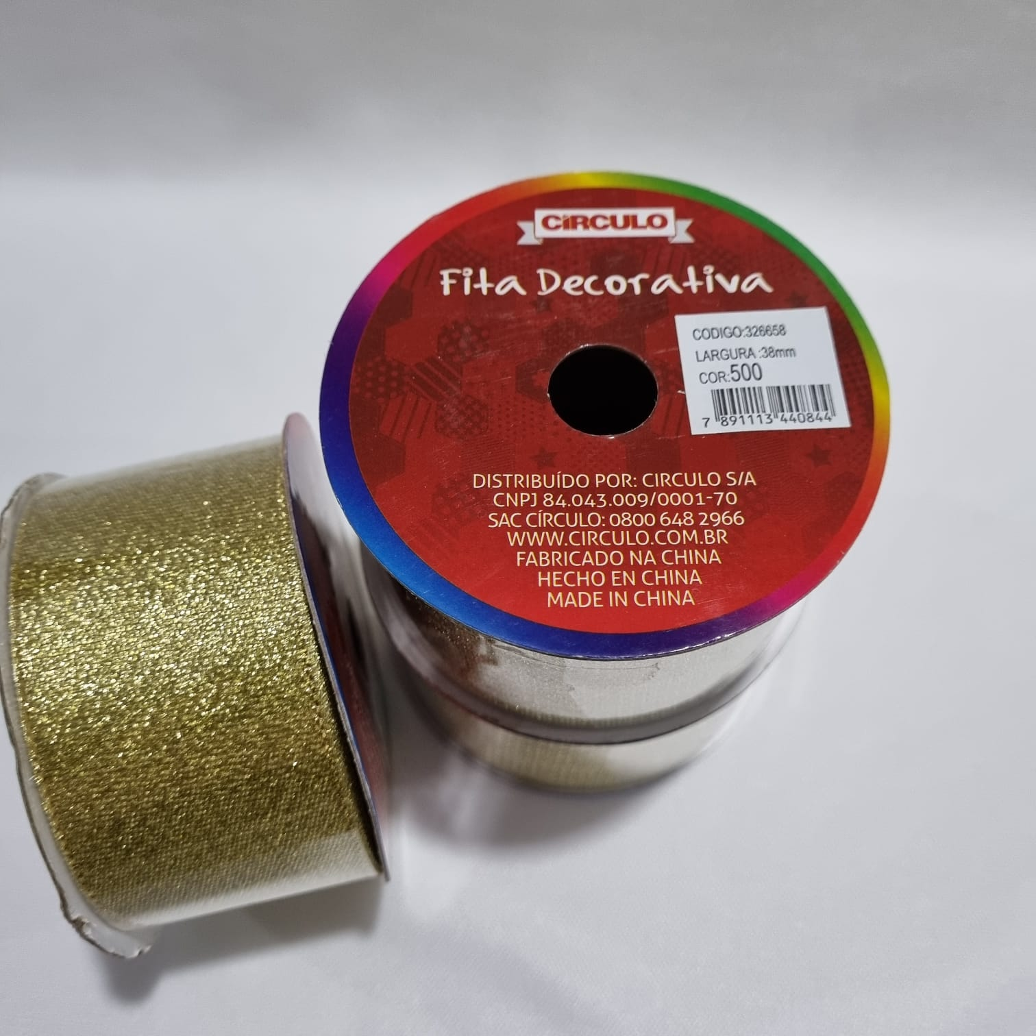 Fita Dourada 38mm