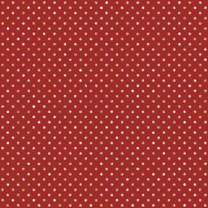 Tecido Tricoline Poá Vermelho