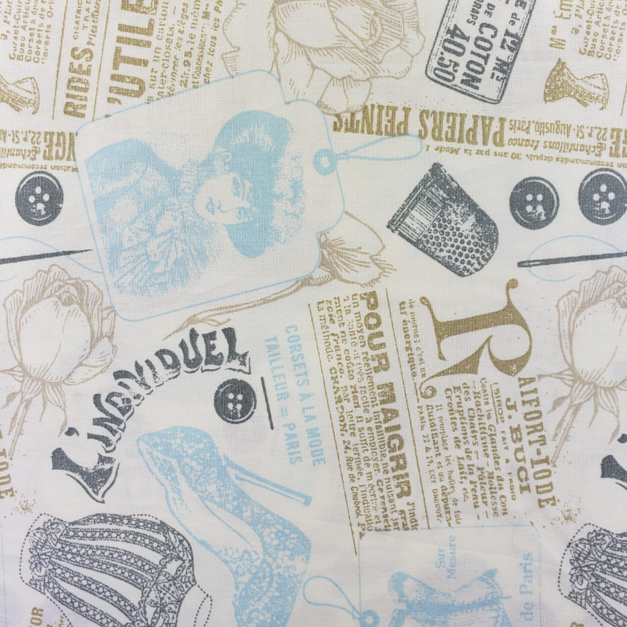 Vintage Papiers Of