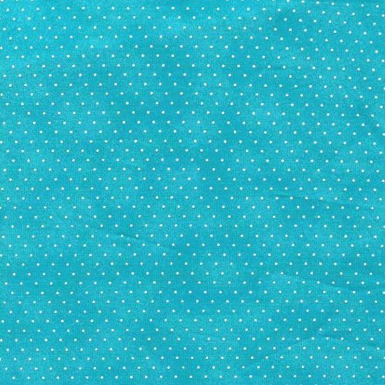 Poá com Poeirinha Azul Tiffany