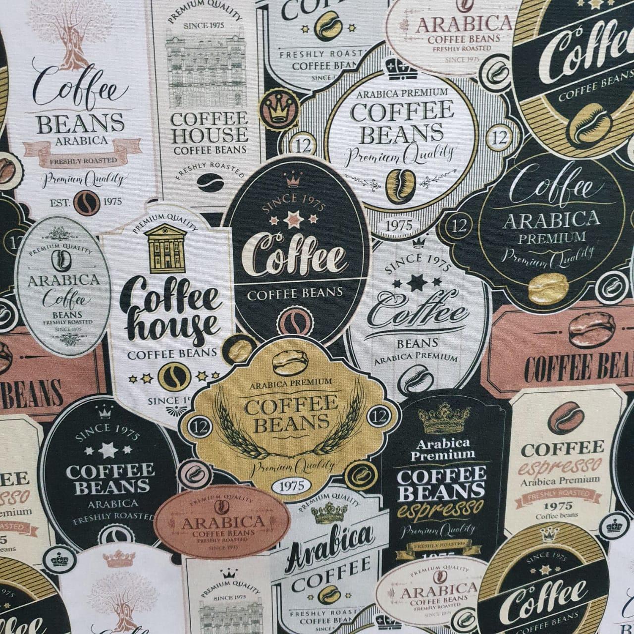 Tecido Tricoline Café