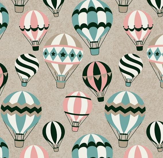 Balões Bege