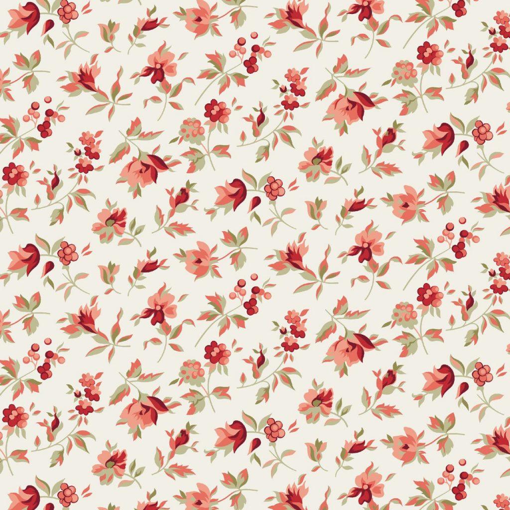 Coleção Composê - Florzinha Vermelho