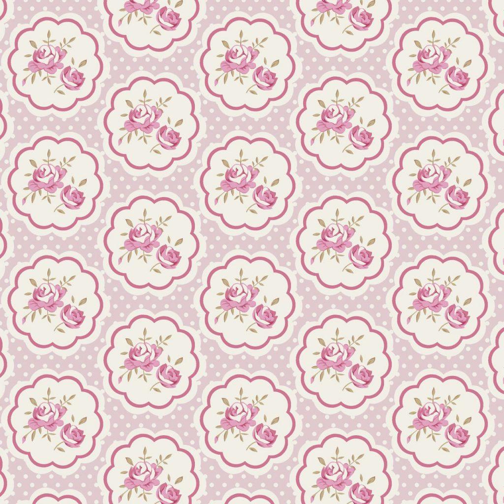 Coleção Composê - Rosas Rosa