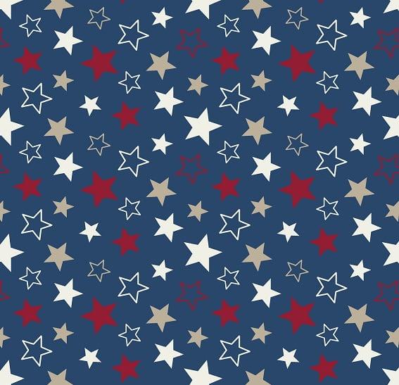 Estrela Azul Escuro