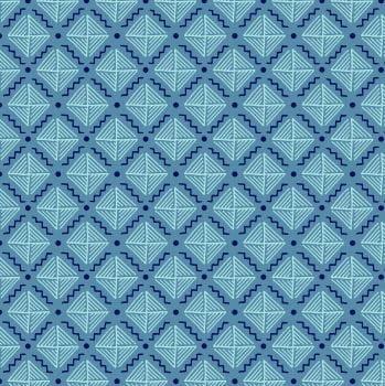 geometrico eva azul