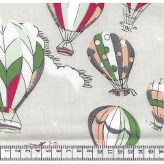 Balões Médio Bege