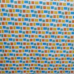 Tecido Tricoline Quadradinhos Coloridos