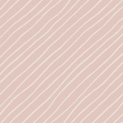 Tecido Tricoline Light Pink Diagonal