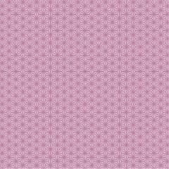 Tecido Tricoline Oriental  -  Geométrico Rosa