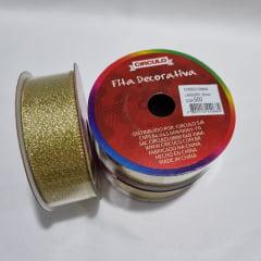 Fita Dourada 25mm