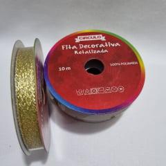 Fita Dourada 9,5mm