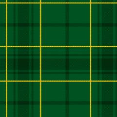 Tecido Tricoline Xadrez Natal Verde