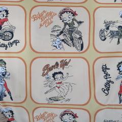 Betty Boop Quadrinhos Bege
