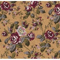 Floral Grace Kelly Bege of