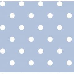 Bolas Brancas Fundo Azul Claro