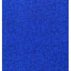 Tecido Tricoline Textura Azul Royal
