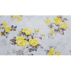 Coleção Composê - Floral Amarelo