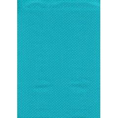 Tecido Tricoline Micro Poá Azul Oceano