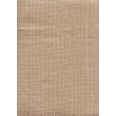 Tecido Tricoline Micro Poá Bege com Branco