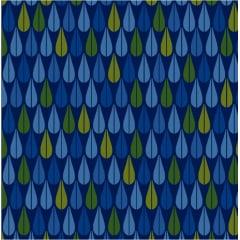 Bohêmia Gotas Azul