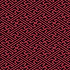 Geométrico Vermelho