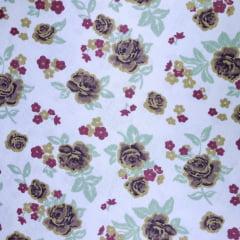 Tecido Tricoline Flores e Florzinhas