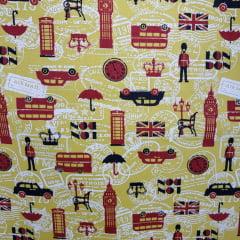 Londres Fundo Amarelo