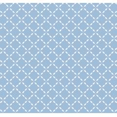 Tecido Tricoline Geometrico Azul Peripan