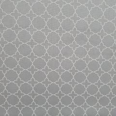 Tecido Tricoline Geometrico M Cinza