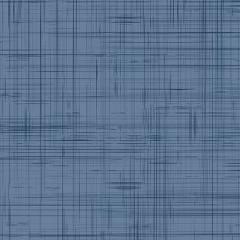 Tecido Tricoline Tramas Azul e Azul