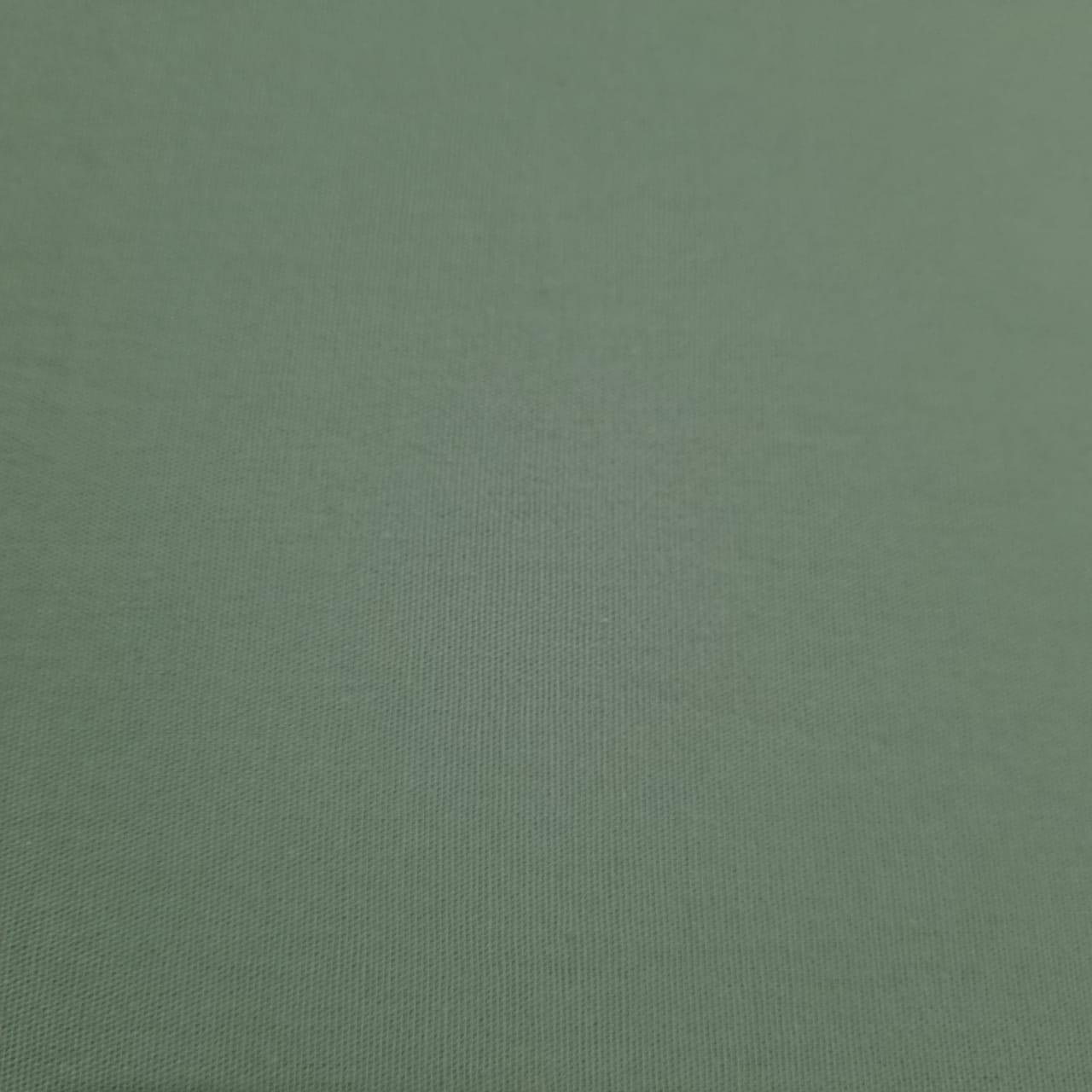 Tecido Tricoline Tricoline Lisa Verde Médio
